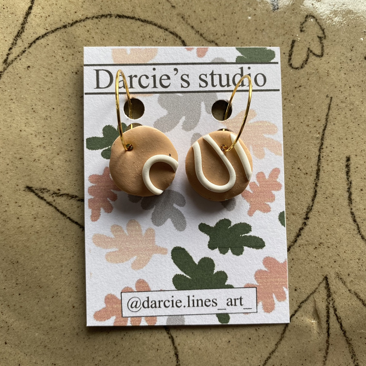 Product Image 1 - polymer clay earrings ✨ Super lightweight Handmade