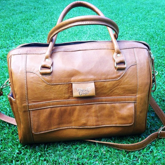 genuine leather diaper bags made in hansel and gretel depop. Black Bedroom Furniture Sets. Home Design Ideas