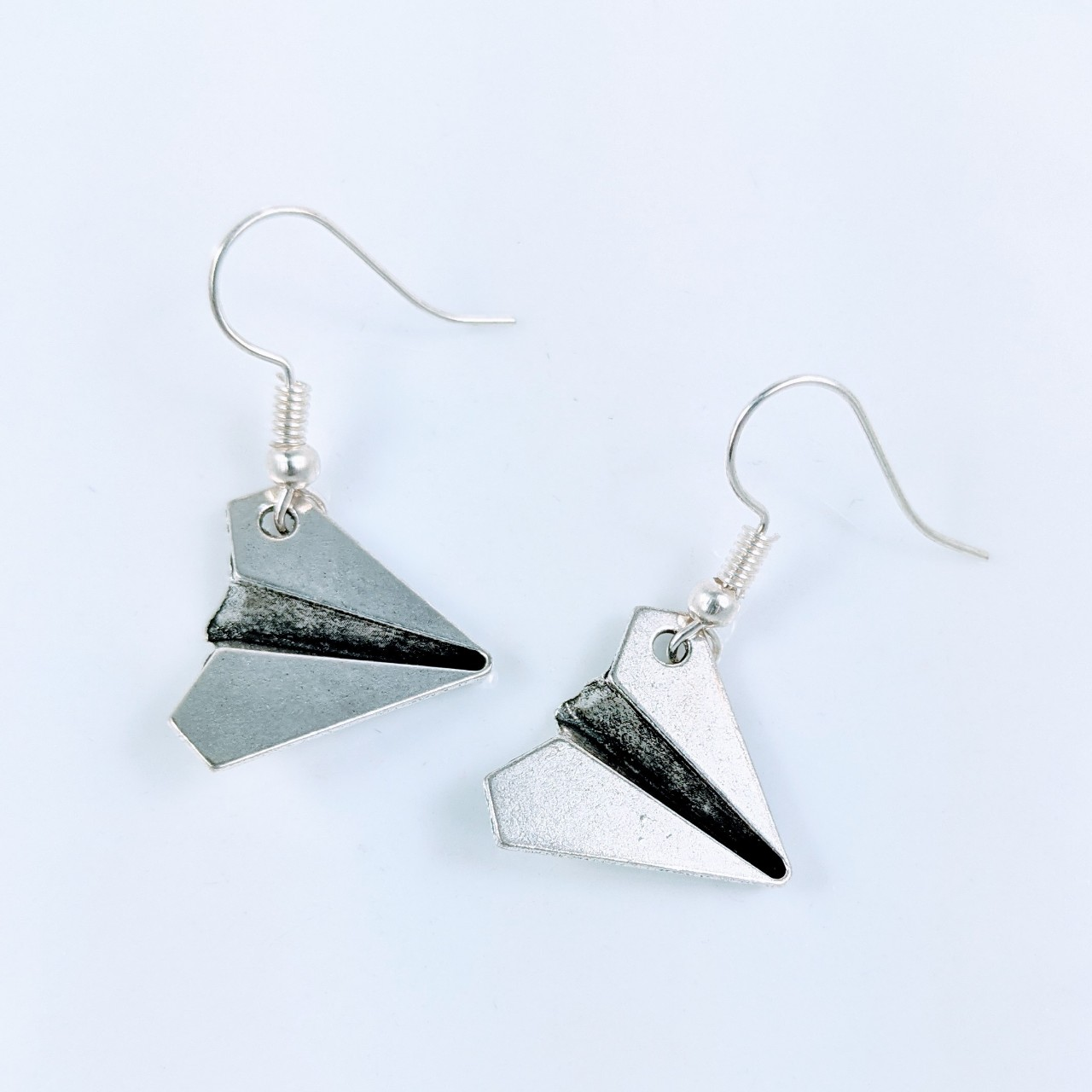 Product Image 1 - Paper Airplane Earrings Brand new  *10%