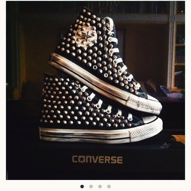 Converse Platform Borchie blogunico.it