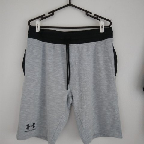 720d17f9f1 NWT Mens grey UA shorts! New never worn! Retails for 49.99! - Depop