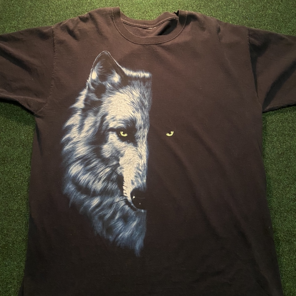 Product Image 1 - Cool wolf face shirt. It