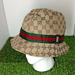 39104c26046747 SALE GUCCI GG Monogram Ladies. $200 · Vintage authentic GUCCI bucket hat.
