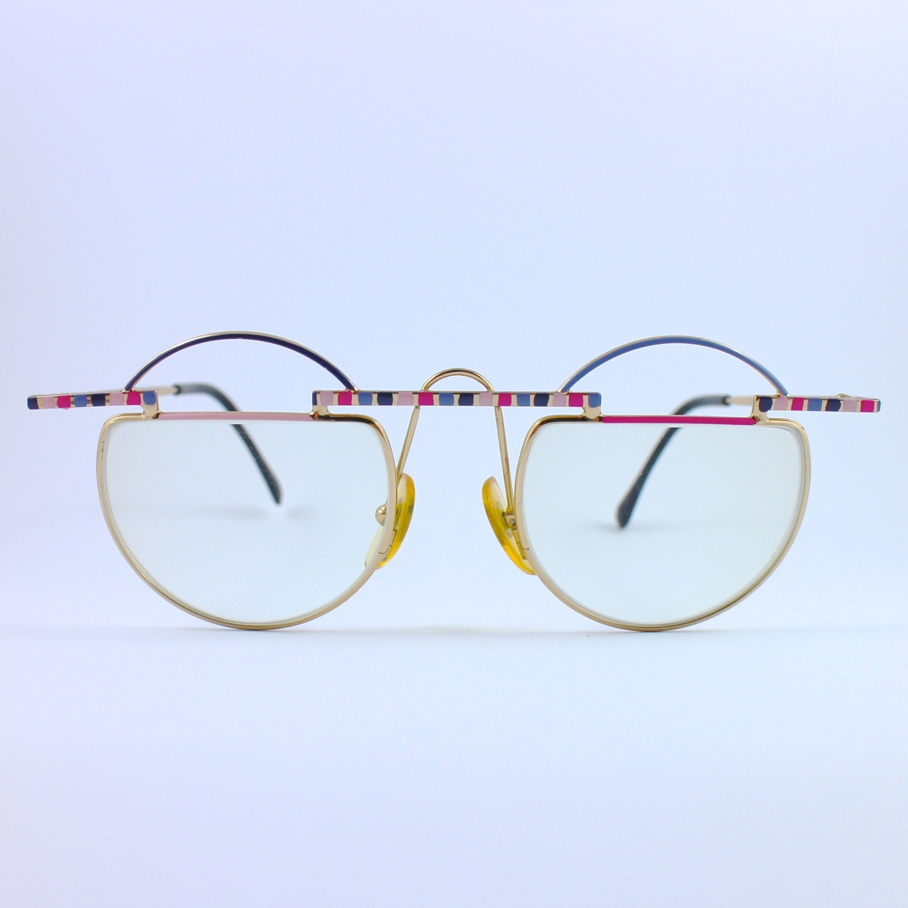 Eyeglass Frames Venice Italy : Taxi glasses with pink, purple and ... Cristiano Spiller ...
