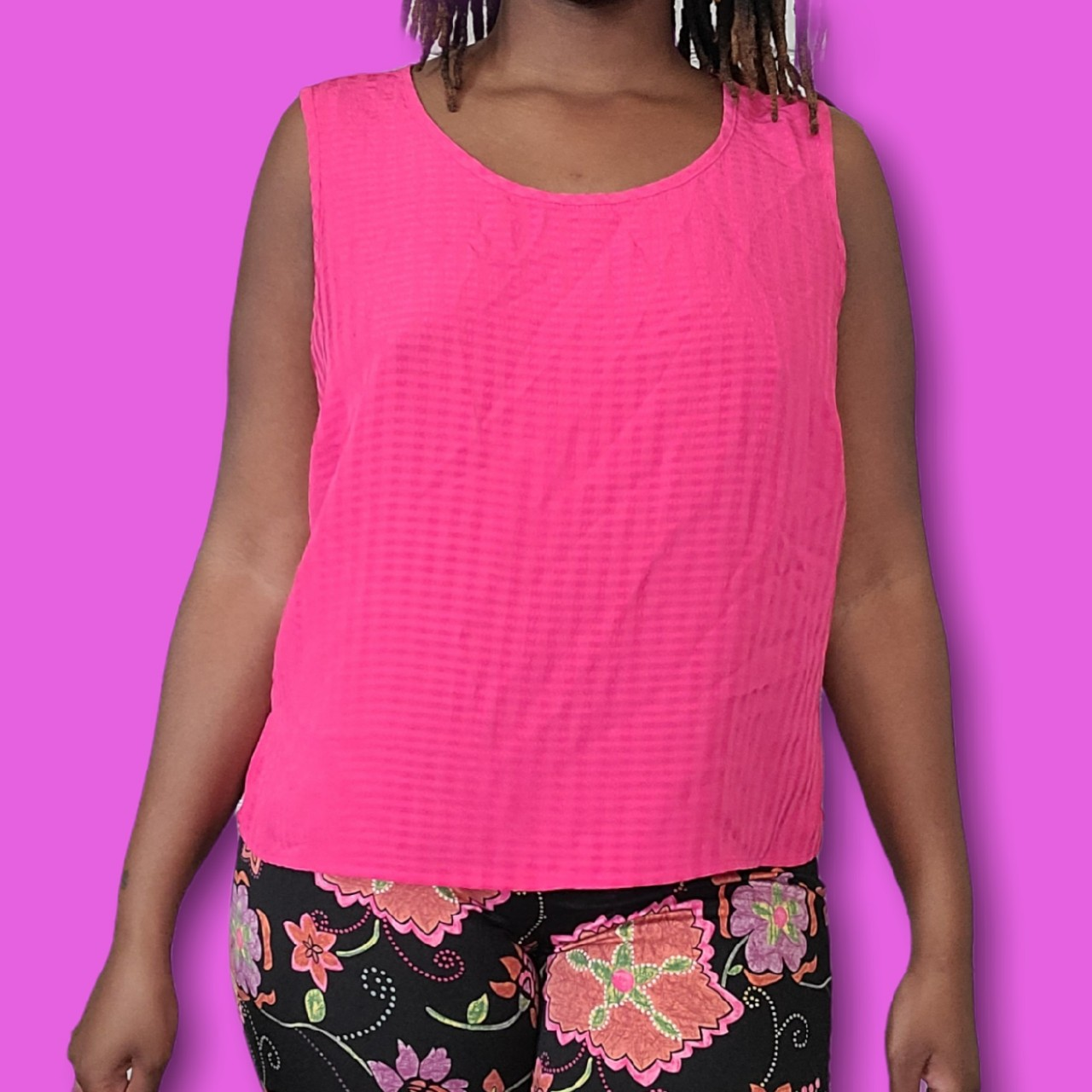 Product Image 1 - Hot pink plus size tank