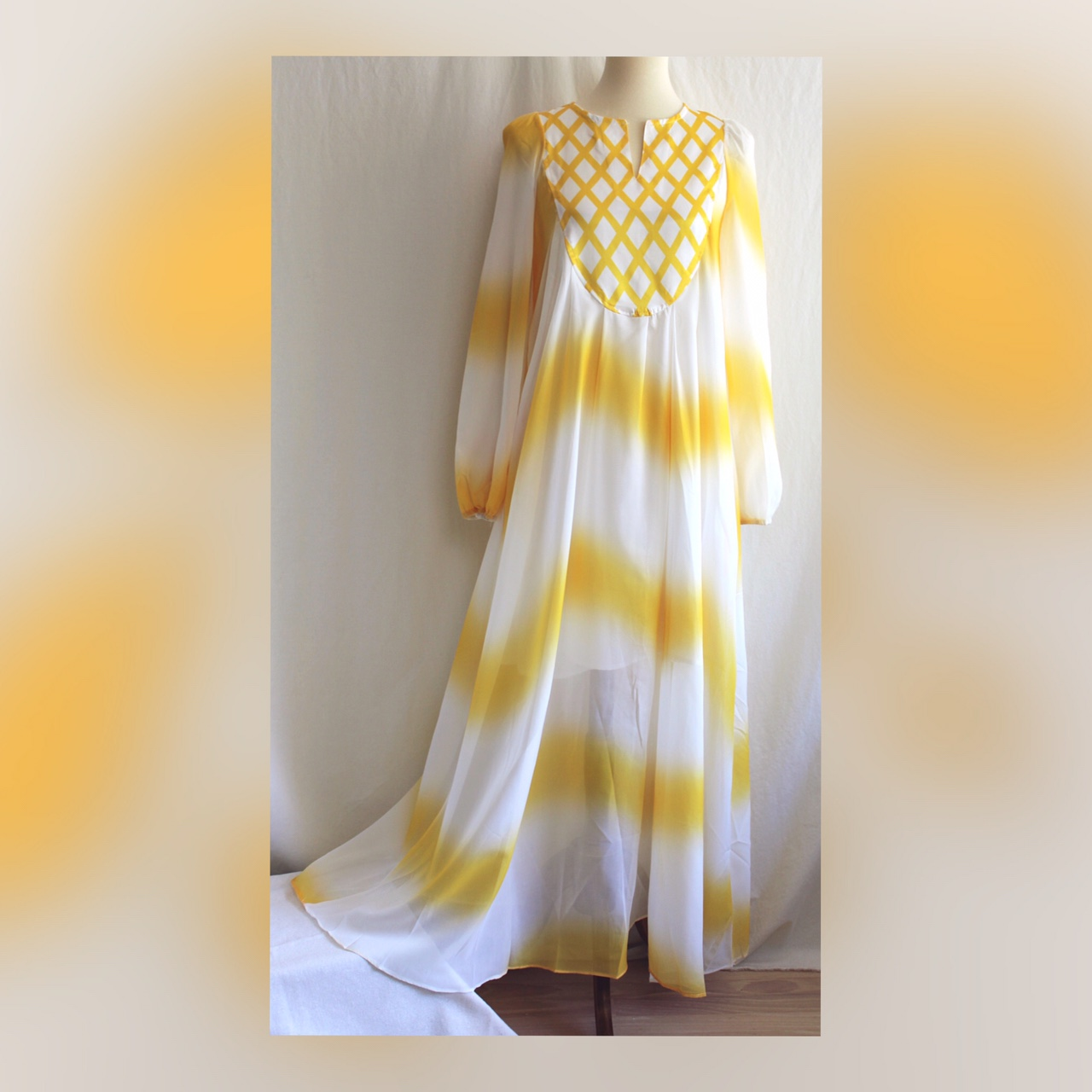 Product Image 1 - SHIPS FREE☀️Gorgeous tie dye yellow