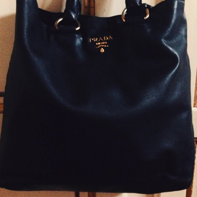 REPOP! Borsa shopping prada nera originale!!! ... | Gaia Cellini ...