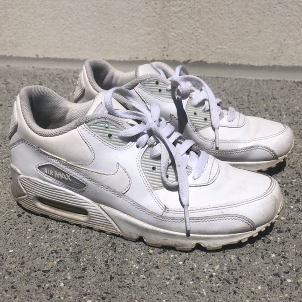 582e9c06c3 Nike Air Max 90s classic!!! sad these are not my size bc I - Depop