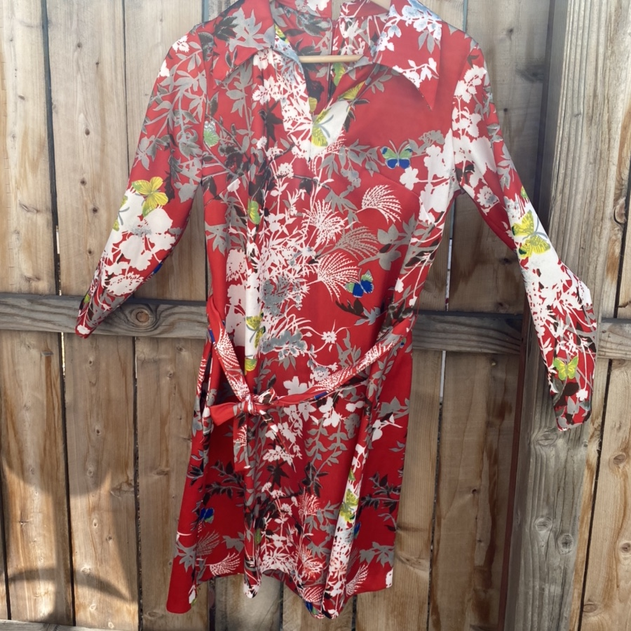 Product Image 1 - Beautiful 60s floral short dress