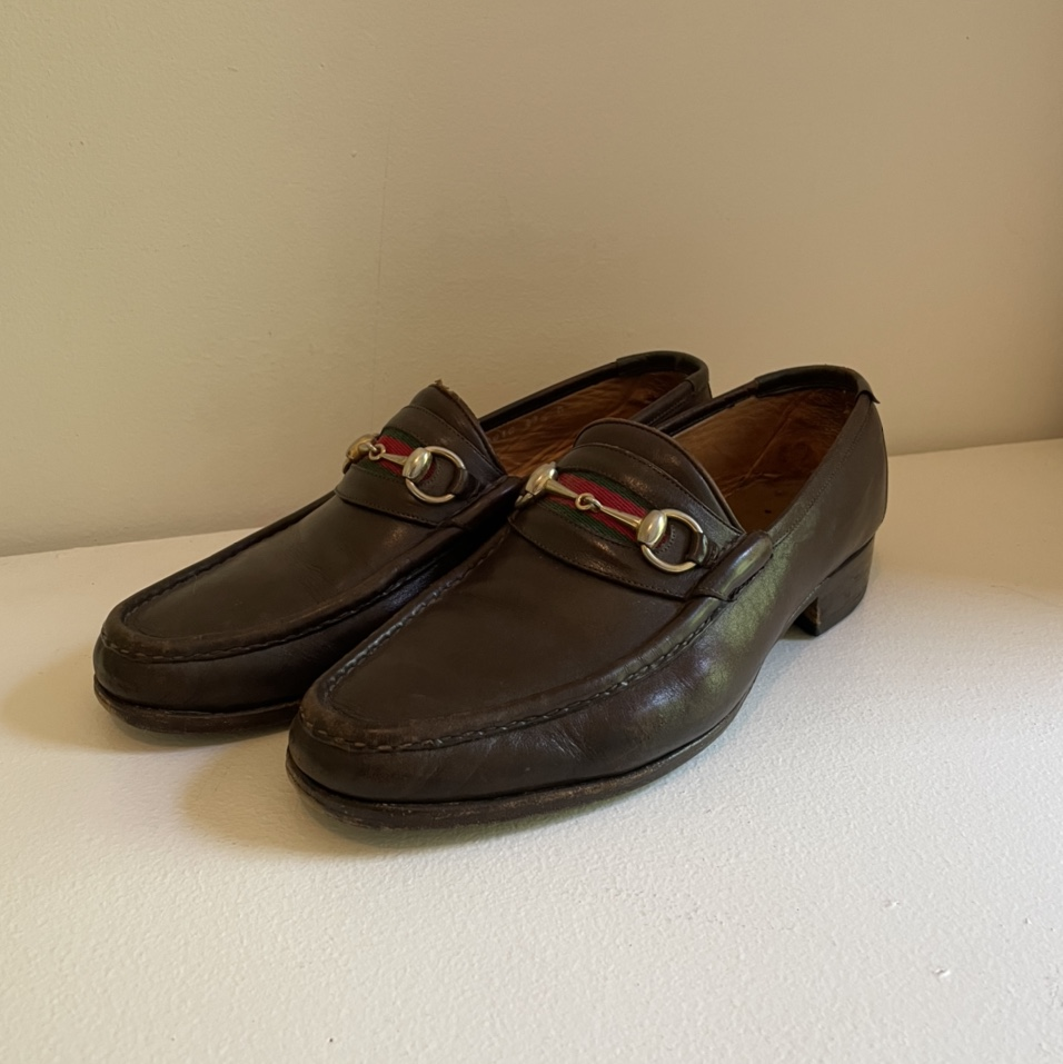 Product Image 1 - men's gucci loafers  size 43.5,