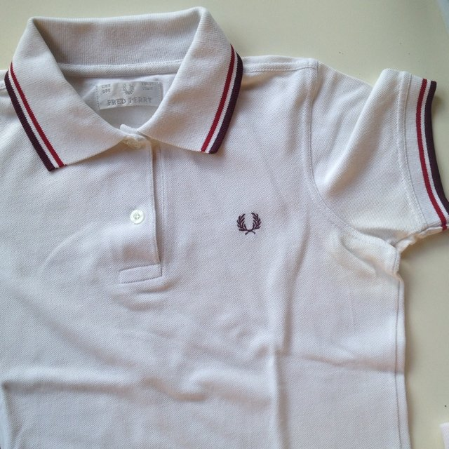 Polo Fred Perry Bianca
