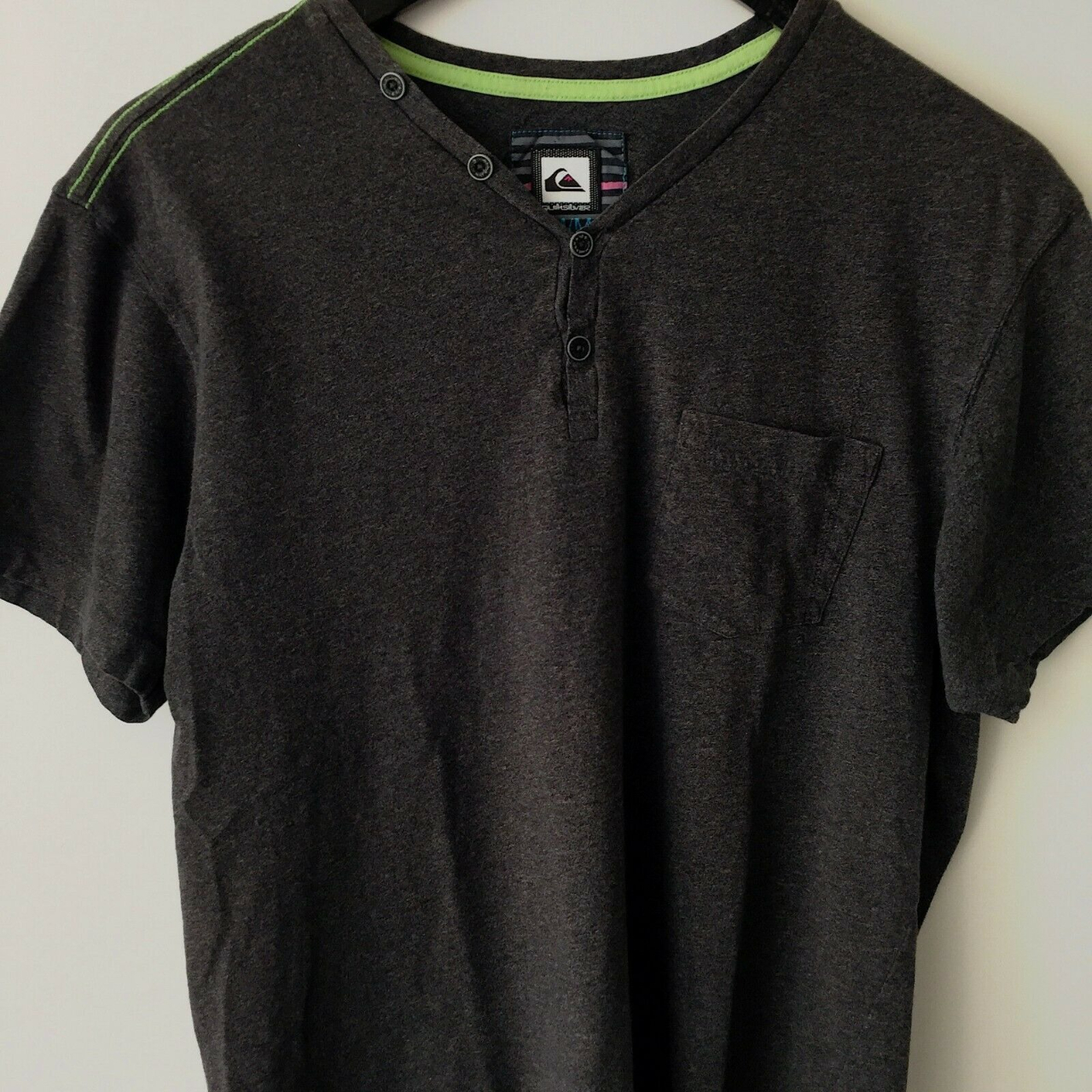 Product Image 1 - Quiksilver Pocket Tee Surf Graphic