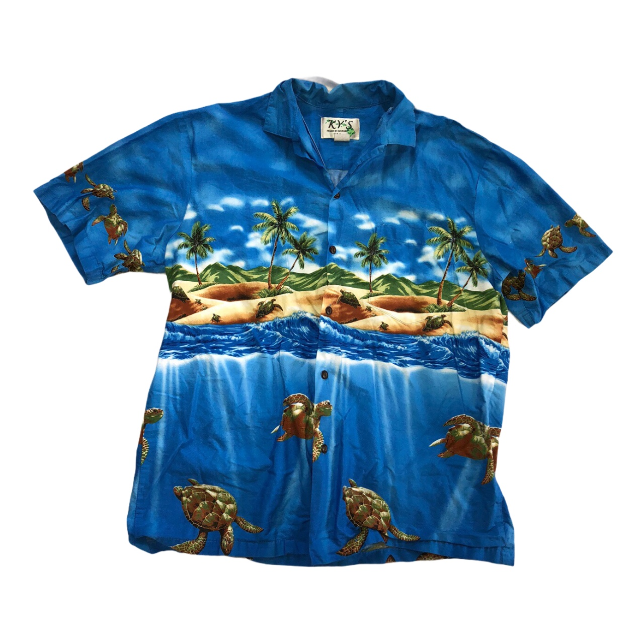 Product Image 1 - vintage hawaiian shirt 🐢   features: -a