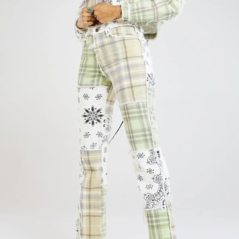 Product Image 1 - JADED LONDON patchwork jeans! So