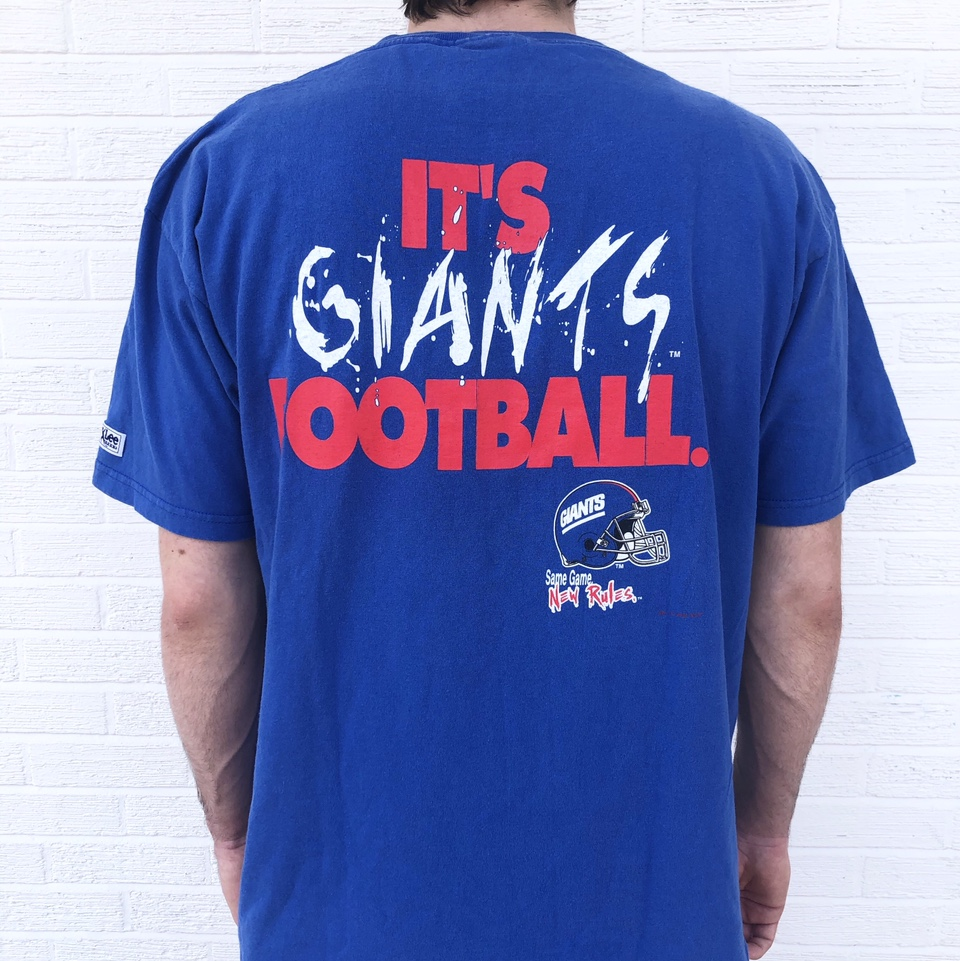 Product Image 1 - ✨🧚🏻♀️FREE SHIPPING🧚🏻♀️✨  Vintage 90s NY Giants