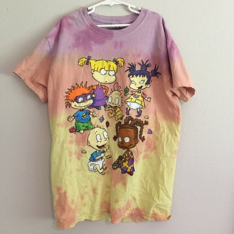8aa0f8b8b @llucymariee. 2 hours ago. Woodinville, United States. forever 21 tye-dye  rugrats shirt in good condition. size small but ...