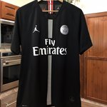 760f8cdf9ca PSG Home shirt 2018/19 Mbappe 7 UCL Champions League M with - Depop