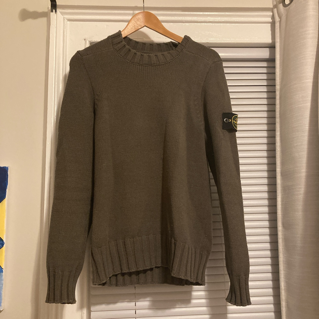 Product Image 1 - Stone island sweater  Condition 10/10 Size