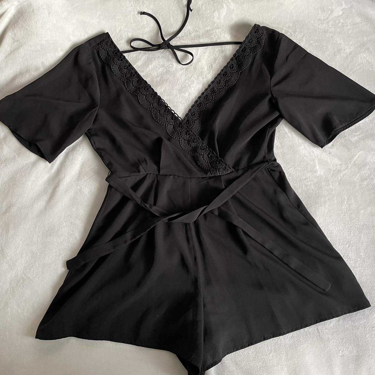 Product Image 1 - black romper  only worn once