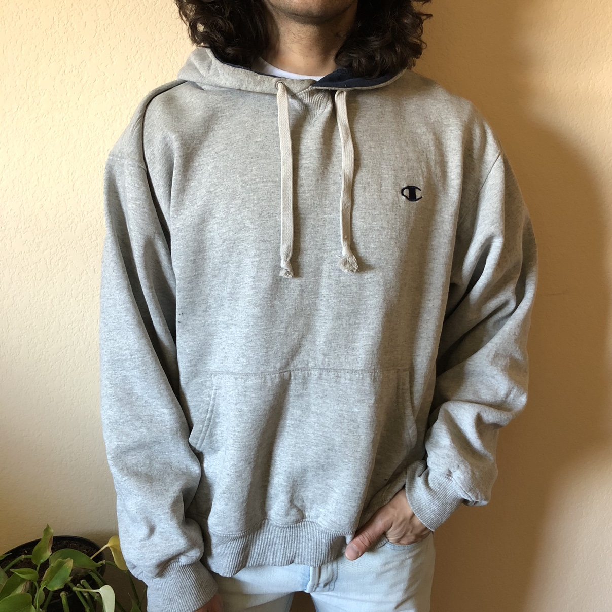 Product Image 1 - Champion pull-over hoodie Really nice