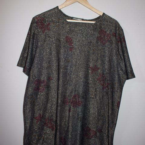 1a8257979d3e8 sheer top with red design - so dope and sexy - no tag, a - Depop