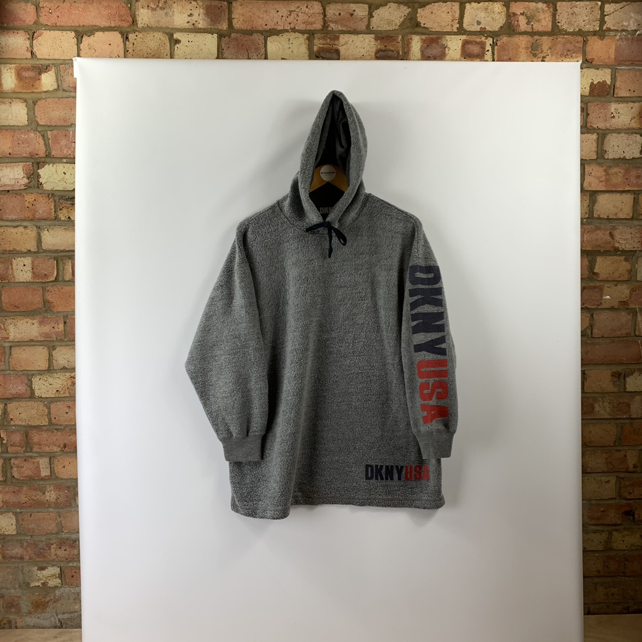 Product Image 1 - Vintage DKNY hooded fleece with