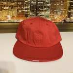 76d85dd9 Supreme box logo corduroy five panel in this deep almost - Depop