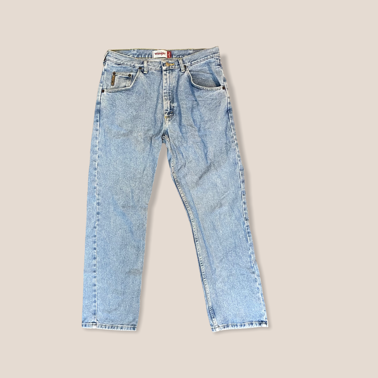 Product Image 1 - Wranglers regular fit jeans. 34x30