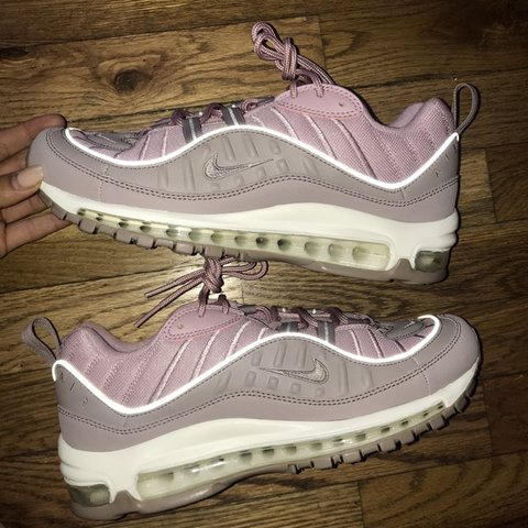 112a5d7c8e @sarahlgorden. 15 days ago. Chicago, United States. Nike Air Max 98 light  pinkish colorway, brand new, never worn