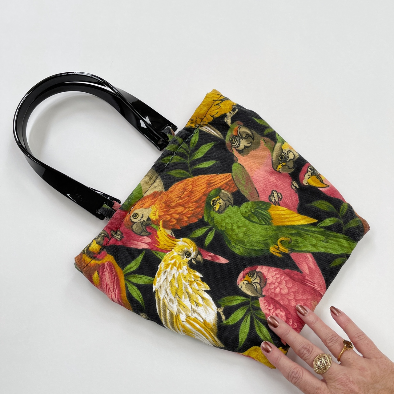 Product Image 1 - Handmade tropical parrot bag with