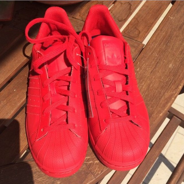 adidas superstar rosse supercolor
