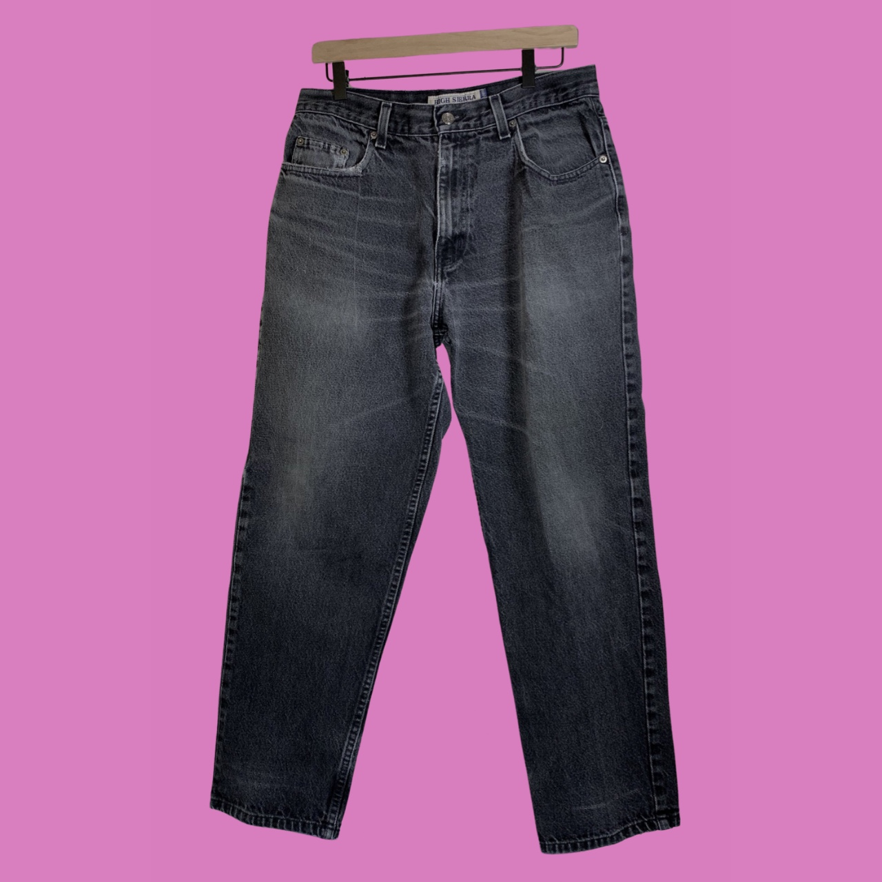Product Image 1 - distressed high waisted relaxed jeans