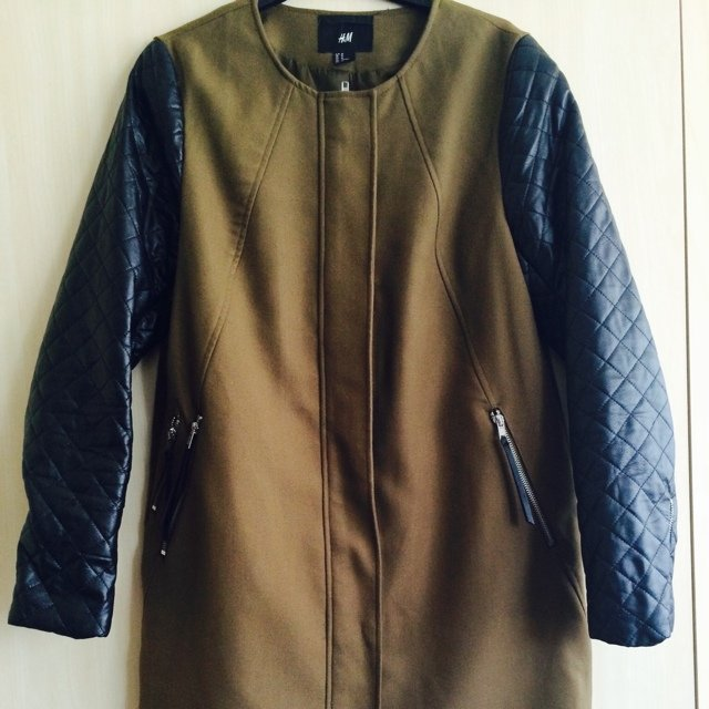 h And m Khaki Jacket With