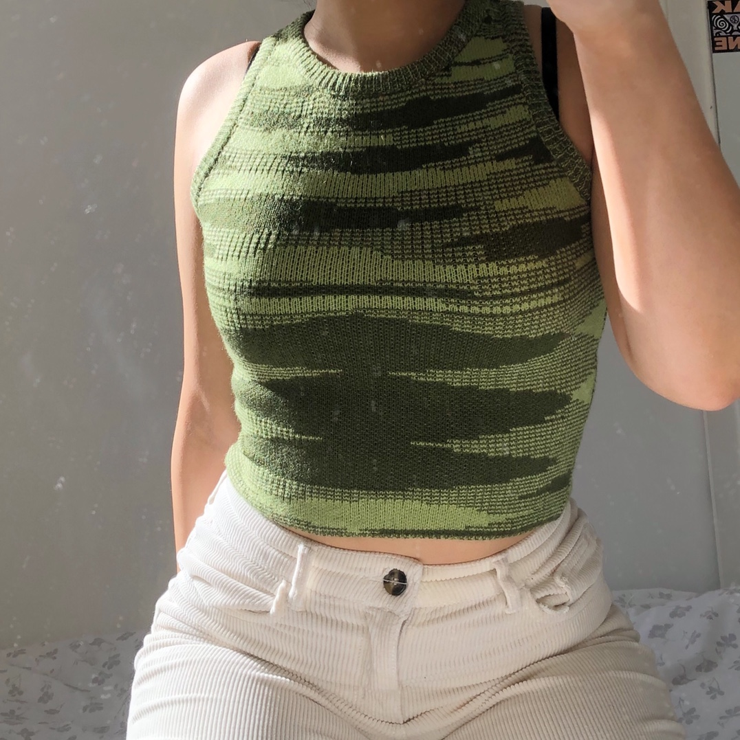 Product Image 1 - •Super groovy funky striped green