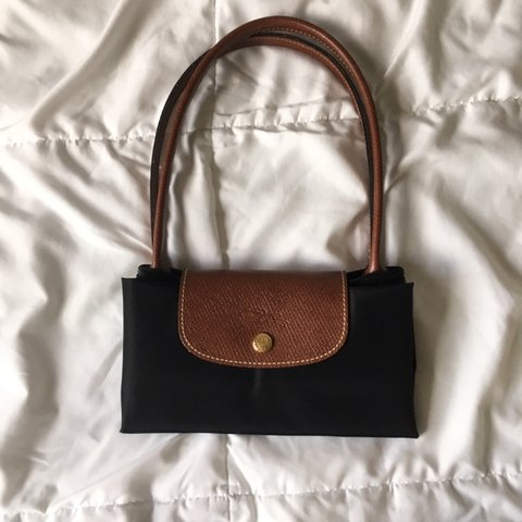 f37106b521a Longchamp Small Le Pliage Tote Used A Few Times But In - Depop