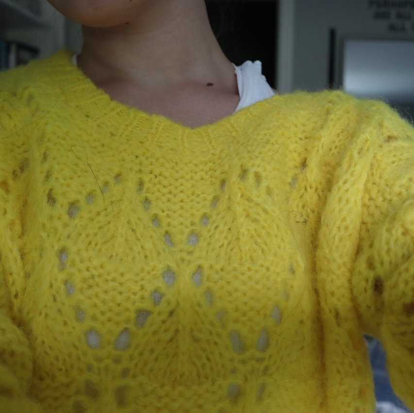 Product Image 1 - super fluffy yellow sweater from