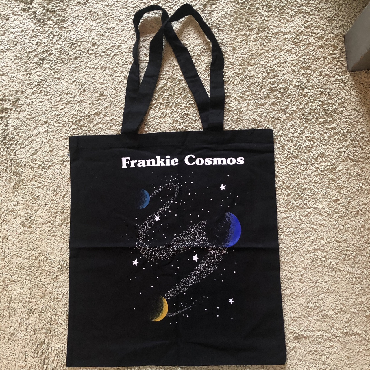 Product Image 1 - Frankie Cosmos space tote bag.