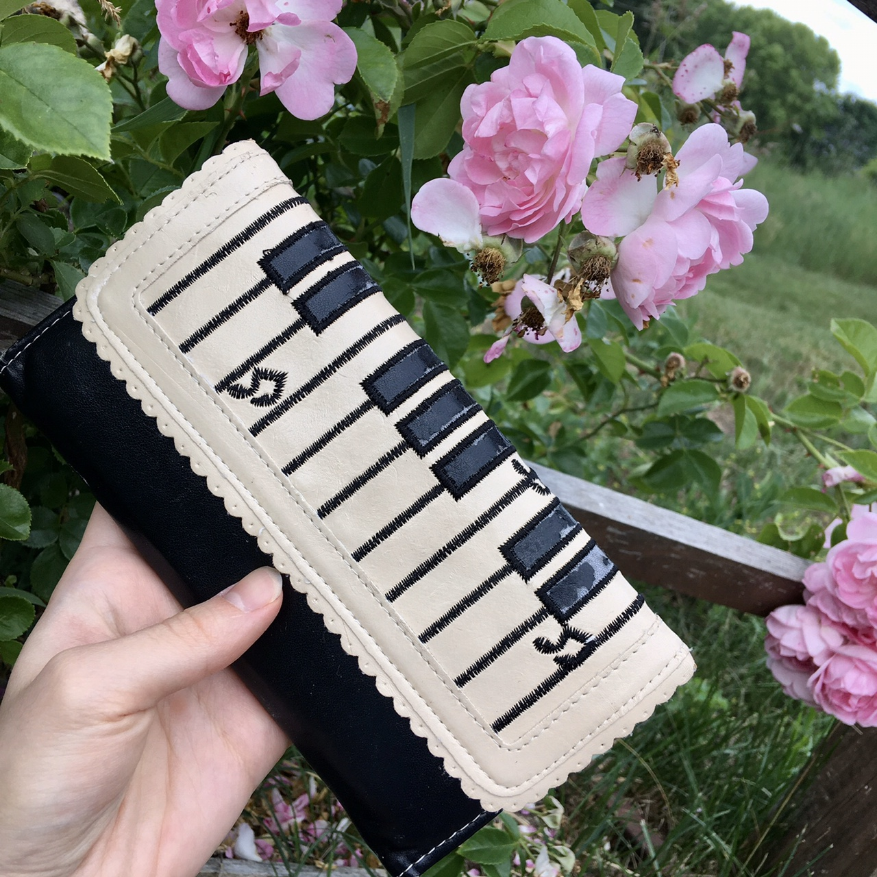 Product Image 1 - Adorable piano faux leather wallet