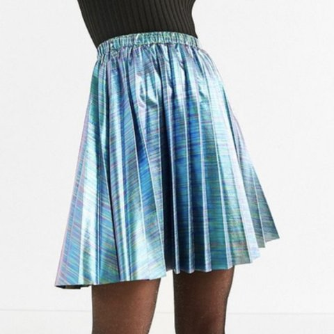 8d3340ee3 @gtm1411. 12 days ago. Tallahassee, United States. Urban Outfitters iridescent  pleated skirt