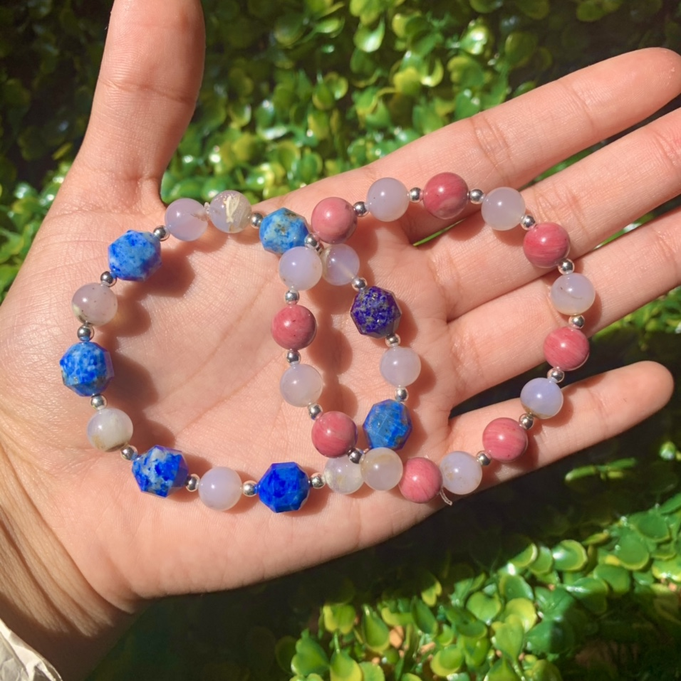 Product Image 1 - Two Friendship Crystal Bracelets 💙♾💗  This