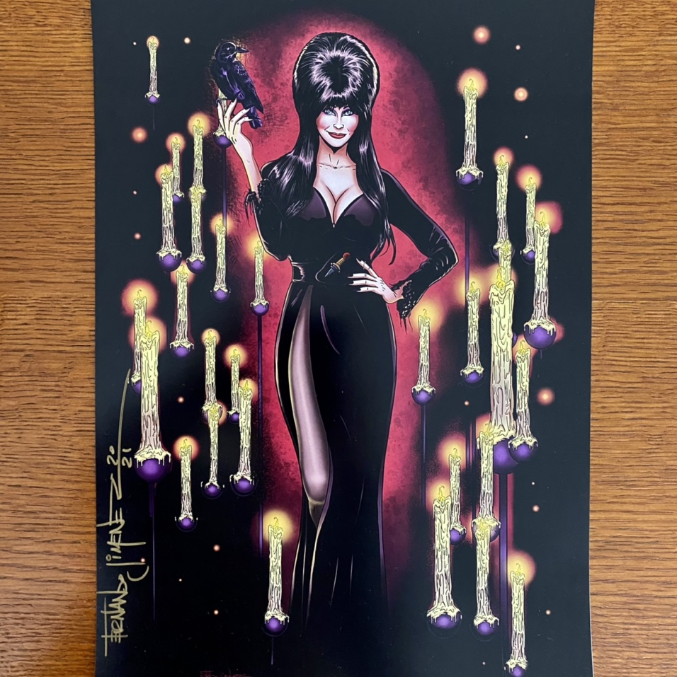 Product Image 1 - ELVIRA Poster for Halloween! It