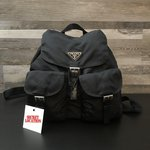 "2e1405420a63 Prada Duffle Bag Comes with Authenticity Cards & Lock 23"" - Depop"