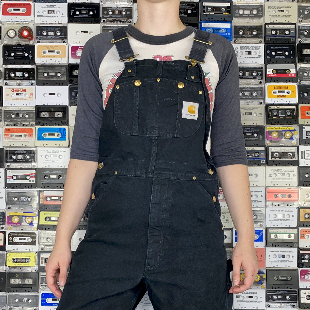 Product Image 1 - Classic black vintage Carhartt overalls!  Tag